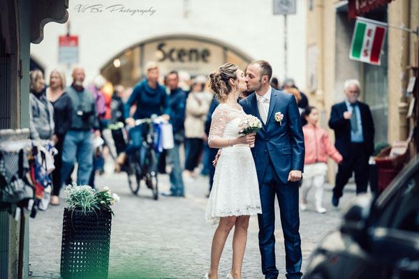 Hochzeitsfoto Regensburg Altstadt 2017