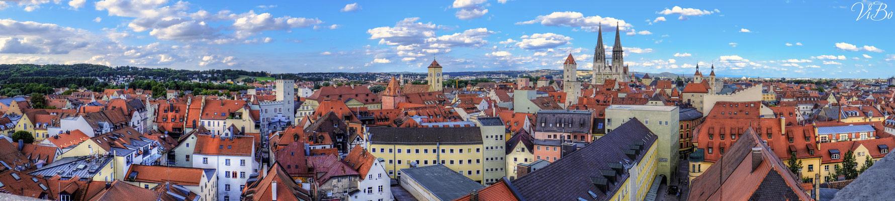 Regensburger Altstadt.