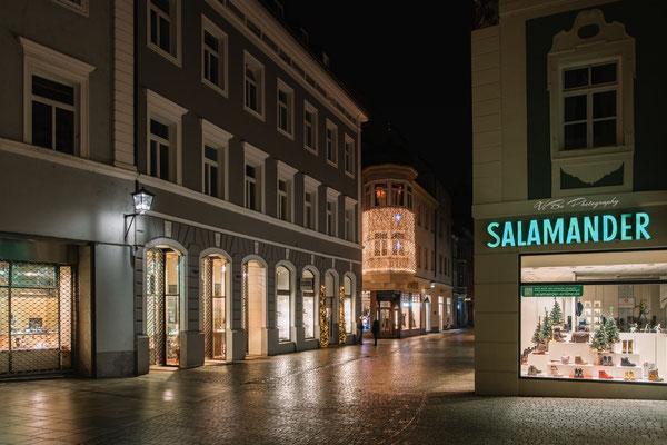 Neupfarrplatz in Weihnachtsstimmung, Regensburg.