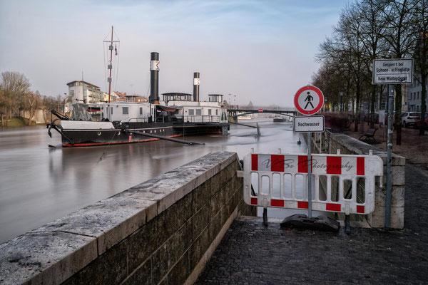 Regensburg, Hochwasser 3.