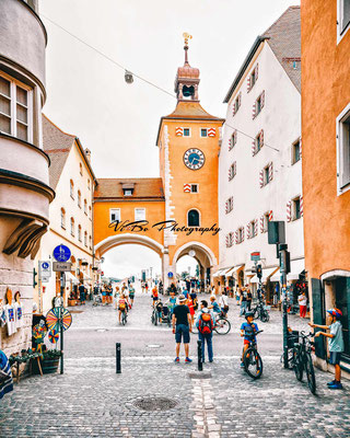 Brückstrasse, Regensburg.