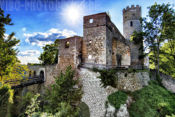 Burg Randeck nähe Essing.