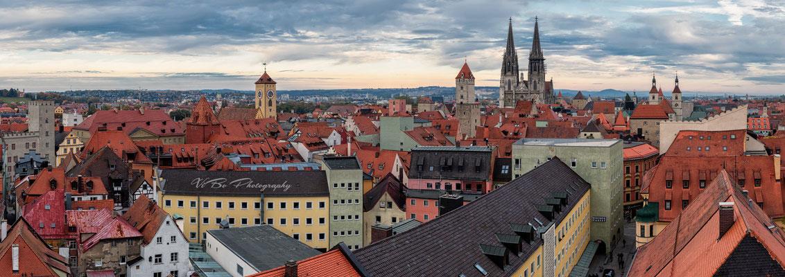 Regensburg Panorama.