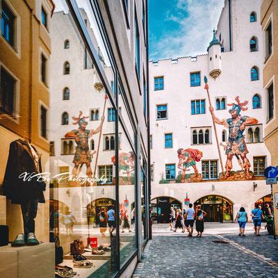 Brueckstrasse, Regensburg.
