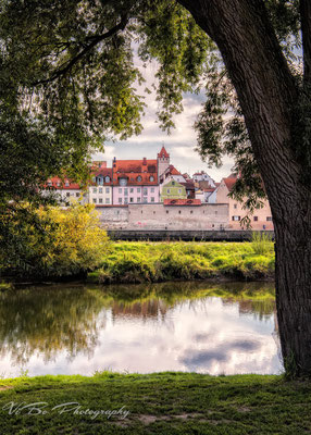 Regensburg,  unter den Linden.