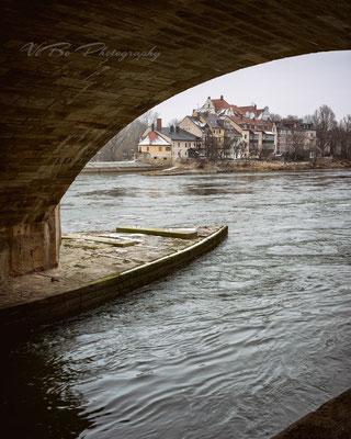 Unterer Wöhrd, Regensburg.
