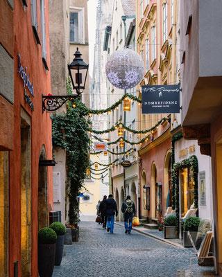 Kramgasse, Regensburg.