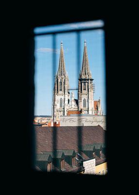 Regensburger Dom von oben 2