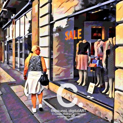 Fotokunst-Gemälde, Caro von Wolmar, www.carokunst.com, signierte, limitierte Fotokunst kaufen, Fotografie, Wiesbaden, Alu-Dibond, Streetfotography, rot, grün, Galerie, Lumas, Whitewall