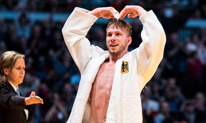 Dominic Ressel Deutscher Meister 2016 (-81kg)