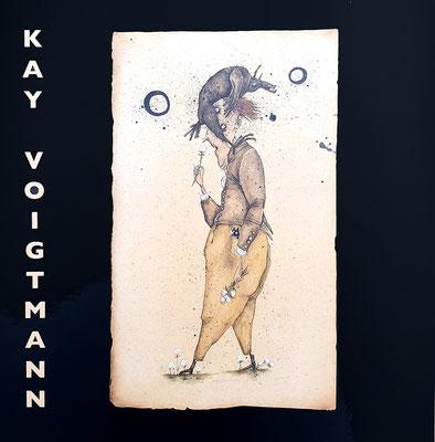 """Kay Voigtmann - """"Fremder Leute Sonnen"""", Galerie Thoms 2018, 52 Seiten, 22x23cm, mit zahlreichen Abb. und einem Text von Silke Opitz - 10 EUR"""