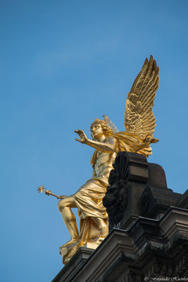 Ein Engel der Akademie der bildenden Künste