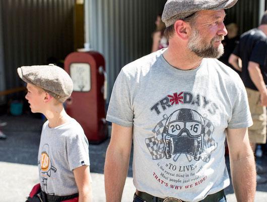 Moritz & Uli Bree Tridays Shirt 2016