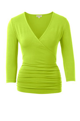 longsleeve in lime