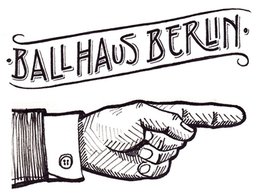 Mural for Ballhaus Berlin