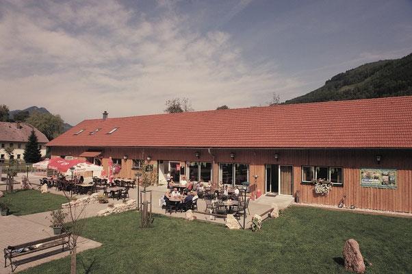 Flößerdorf Gastgarten 1
