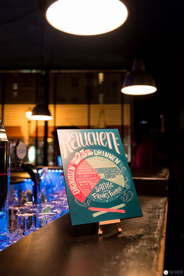 "Book Release Party ""Handlettering - Schöne Zeichen setzen"" by Julia Kerschbaumer, published by Magellan Verlag, Photo: (c) Michael Seirer Photography"