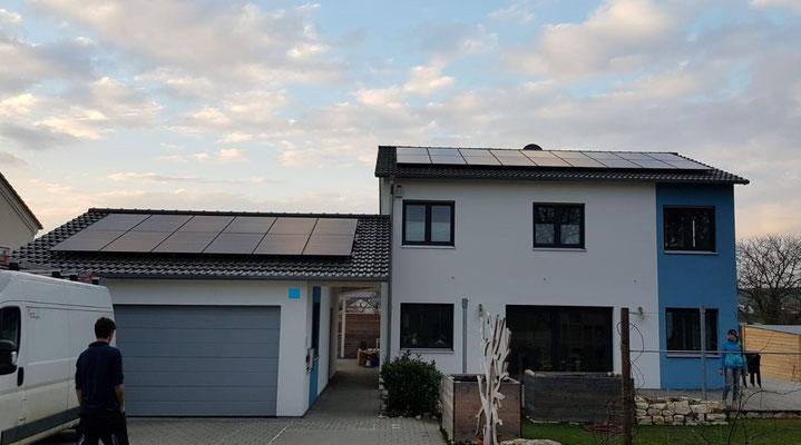 Mit Photovoltaik