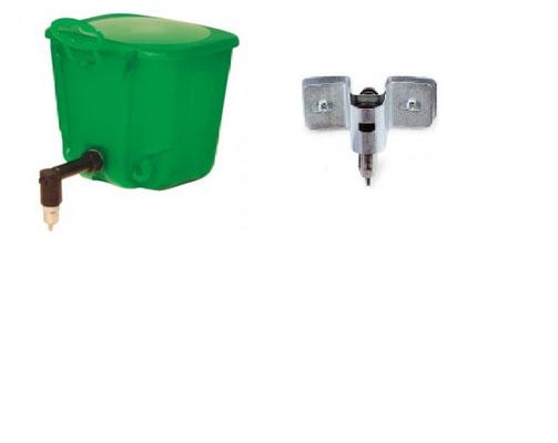 Sur étrier + T ou sur réservoir 1l -  Sucette étrier ou sucette sur fut