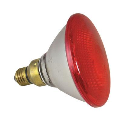 Ampoule infrarouge - Légères ou lourdes de 60 à 250 W