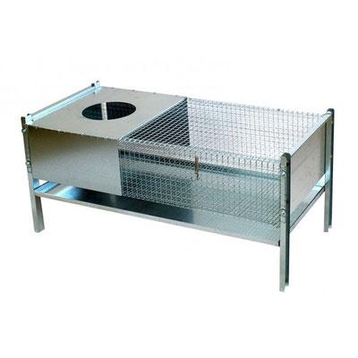 Cage maternité VCP46 - Sans accessoires - Pour poussins et cailleteaux - 1000 x 500 x 500 H