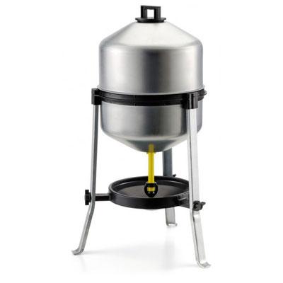 Abreuvoir acier galvanisé - Pour +/- 25 litres à niveau constant