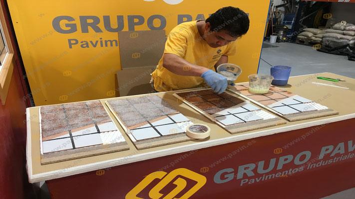 Suelos de resina para pavimentos industriales en Galicia aplicados por Grupo Pavin
