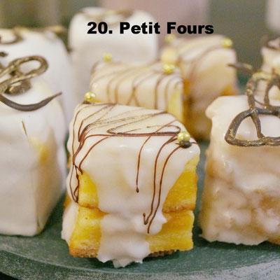 Petit Fours von Kathi