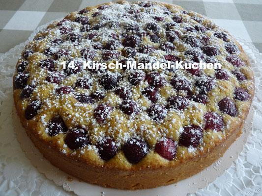 Kirsch-Mandel-Kuchen von Katja