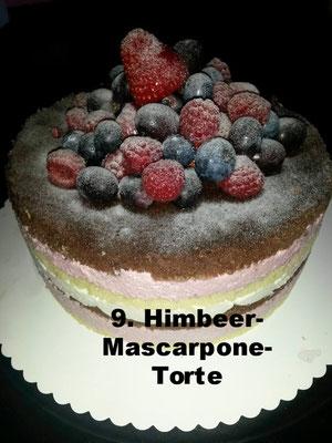 Himbeere-Mascarpone-Torte von Melly´s Backfieber