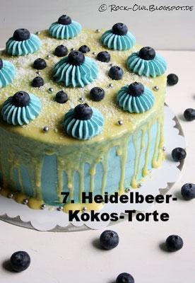 Heidelbeer-Kokos-Torte von Rock Owls