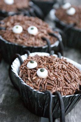 Schoko-Spinnen-Muffins