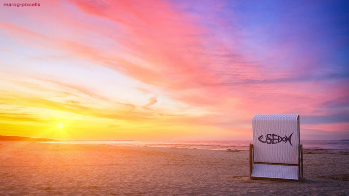 Strandkorb von Mario Rossberg