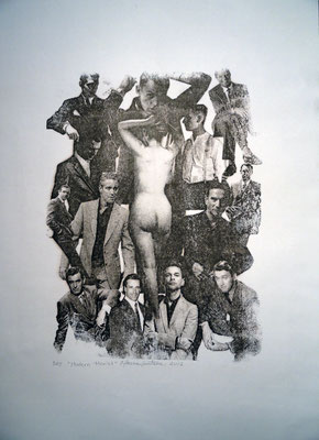 Modern Men'et, 2012. Toner Transfer