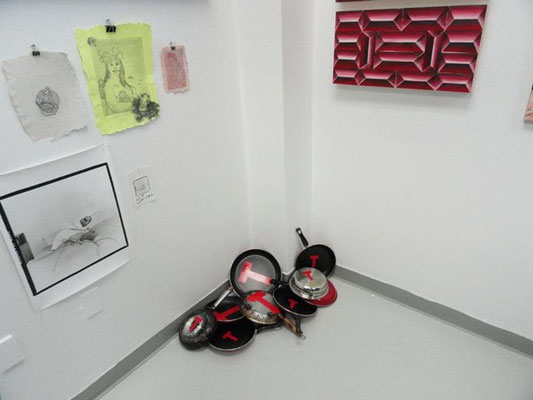"""On display for the """"Be Here Now"""" exhibition at Gallery 106"""