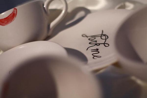 Dirty Dishes, 2012. Ceramics. Detail. Photo: Sierra Raine White