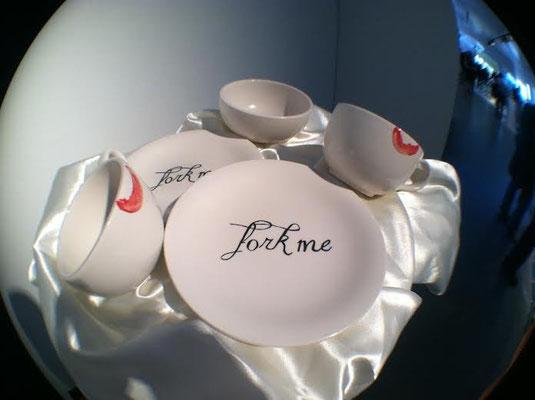 Dirty Dishes, 2012. Ceramics. Photo: Sierra Raine White