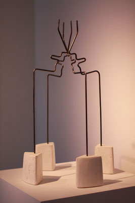 A Question of Lust, 2011. Steel and Plaster. Photo: Sierra Raine White
