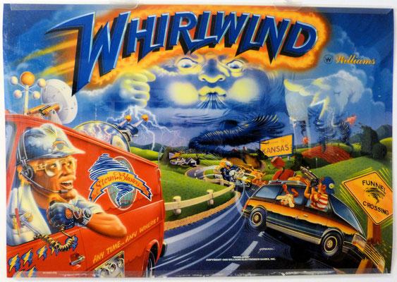 """Translite """"Whirlwind"""" von Williams"""