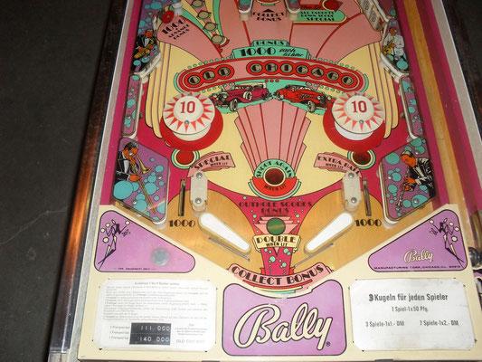 """Spielfeld """"Old Chicago"""" von Bally"""