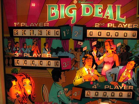 """Kopfscheibe """"Big Deal"""" beleuchtet"""