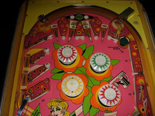 """Spielfeld """"Zip-A-Doo"""" von Bally"""