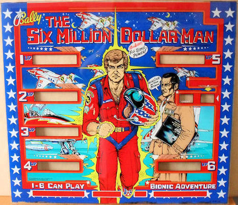 """Six Million Dollar Man"" von Bally"