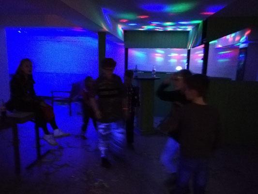 alle hatten viel Spaß bei der Kids-Disco.....