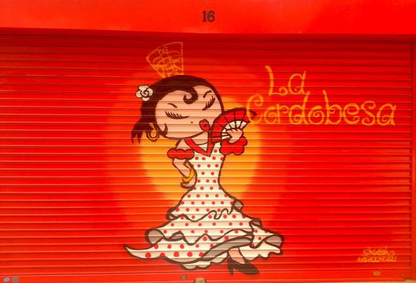 graffiti la cordobesa
