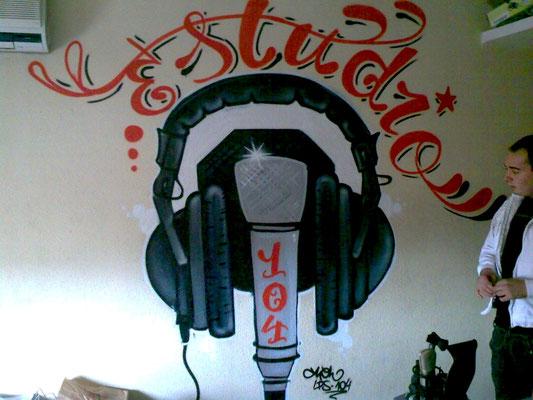 rotulo graffiti barcelona