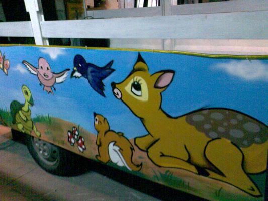 graffiti profesional cabalgatas