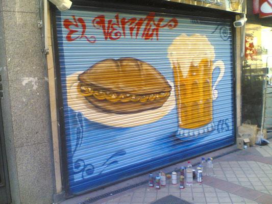 graffiti profesional usera