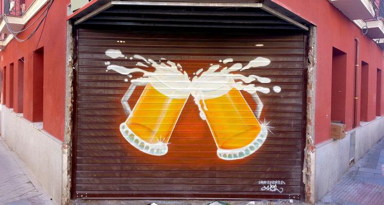 graffiti para cerveceria