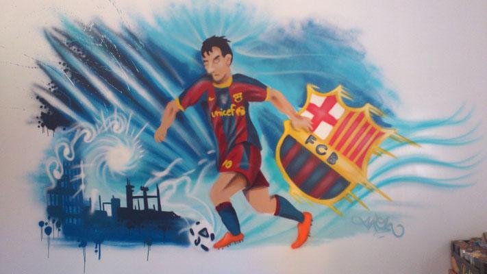 habitacion graffity barcelona